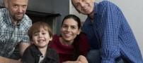 عکس های باورنکردنی زندگی همزمان زنی با 2 شوهر