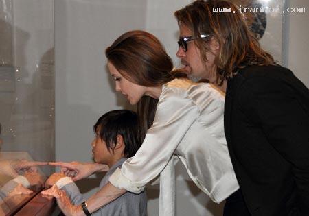سرانجام برد پیت و آنجلینا جولی نامزد کردند!! +تصاویر