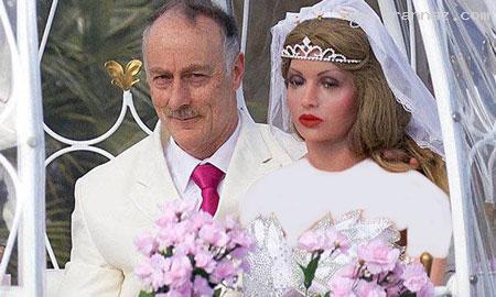 ازدواج بسیار عجیب یک مرد با 9 زن مصنوعی! +تصاویر