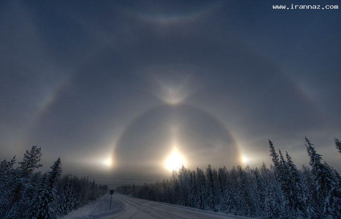 زیبا و شکوهمند ترین طلوع خورشید در زمین (تصویری) ، www.irannaz.com