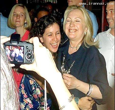 جنجال بر سر رقصیدن خانم وزیر در کافه شبانه +عکس