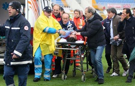 مرگ دردناک بازیکن 25 ساله فوتبال حین بازی! +عکس