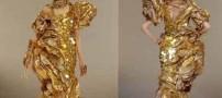 عکسهای مشهورترین دختر بازیگر با گرانترین لباس دنیا