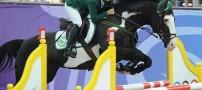محرومیت مشهورترین دختر سوارکار از المپیک +تصاویر