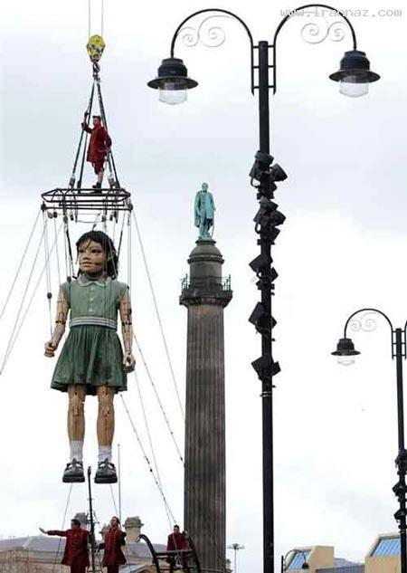 ادای احترام عجیب انگلیس به قربانیان تایتانیک +عکس