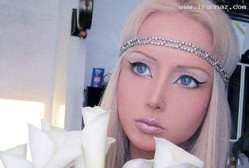 عکس های دختری که خود را به عروسک تبدیل کرد!! ، www.irannaz.com