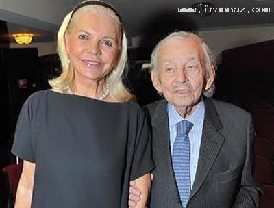 ازدواج پیرمرد میلیاردر و 94 ساله برای بار پنجم +عکس