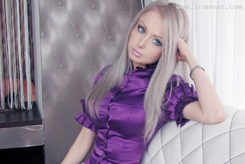 عکس های دختری که خود را به عروسک تبدیل کرد!!