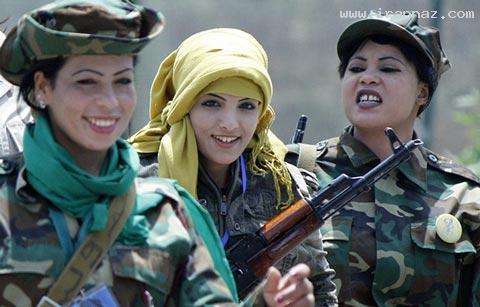 عکس های دیدنی زنان فارغ التحصیل رشته آدم کشی ، www.irannaz.com