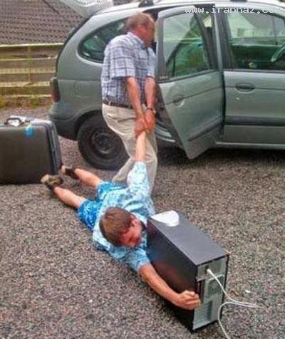 عکس های بسیار جالب و خنده دار از معتادان اینترنتی
