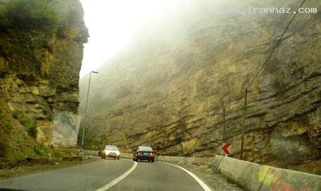 جاده چالوس چهارمین جاده زیبای جهان شد! +عکس