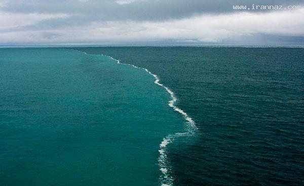 این همان دریای عجیبی است که در قرآن آمده +عکس ، www.irannaz.com