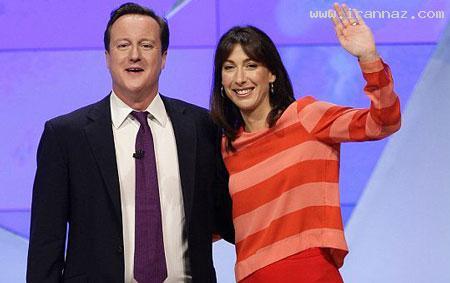 نتیجه بسیار جالب خیانت نخست وزیر انگلیس به زنش!