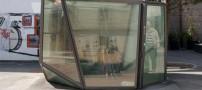 توالت عمومی شیشه ای و نمایان در سوئیس +تصاویر
