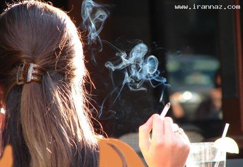 اقدام شرم آور یک زن آمریکایی بخاطر سیگار! +عکس