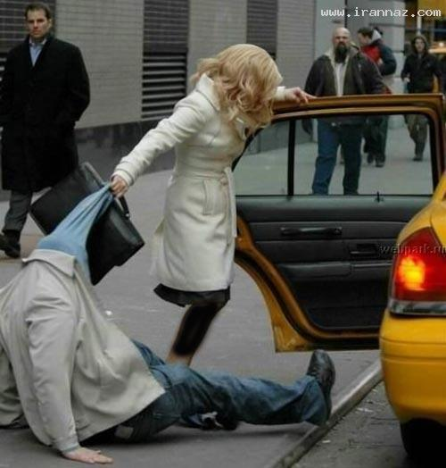 امپول زدن داماد به عروس عکس های بسیار خنده دار زن ذلیل ترین مردان جهان