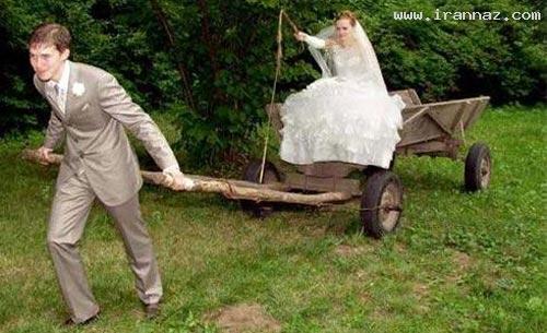 عکس های بسیار خنده دار زن ذلیل ترین مردان جهان