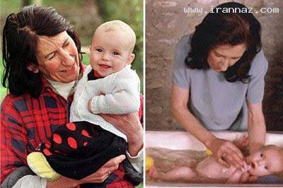عکس زنان در حال حامله شدن