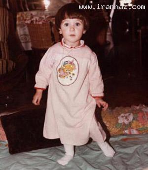عکس های سیر تکامل چهره نانسی عجرم از کودکی