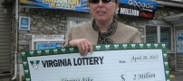 این خانم خوش شانس ترین زن آمریکایی شد! +عکس