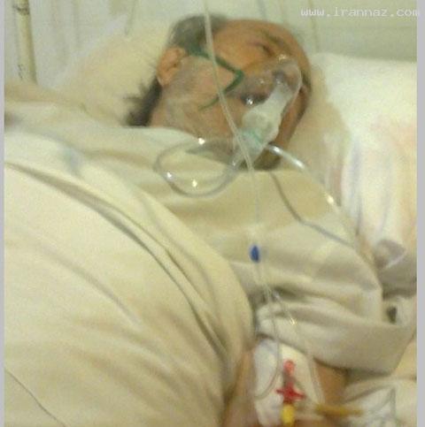 انتشار آخرین عکس از مرحوم ایرج قادری در بیمارستان