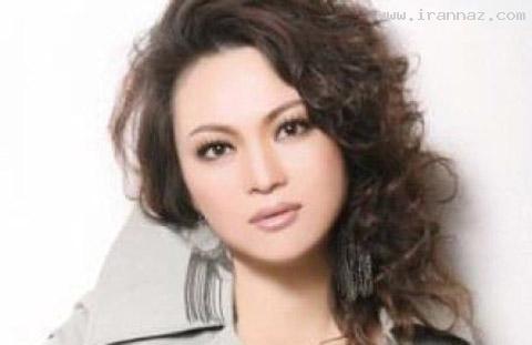 عکسهایی دیدنی از قبل و بعد از آرایش چهره زنی زیبا