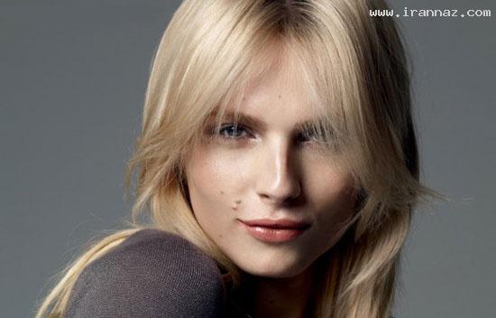 مانکنی بسیار زیبا که هم زن است و هم مرد +عکس
