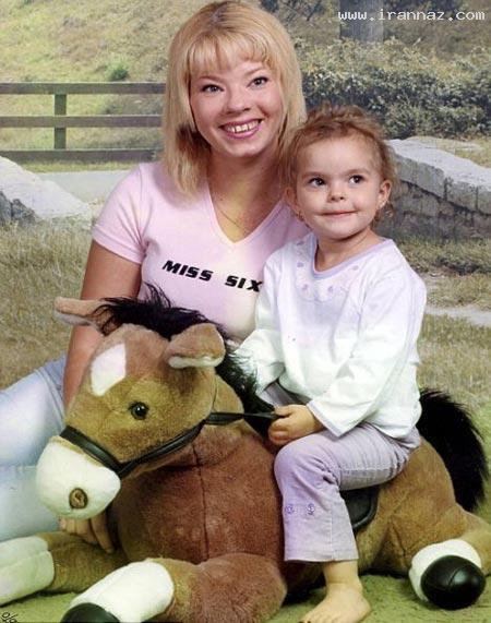 این خانم 32 ساله پس از تصادف 7 ساله شد! +تصاویر