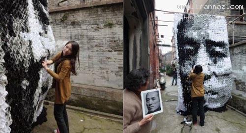 عکس های دیدنی از هنر نمایی جالب یک دختر چینی