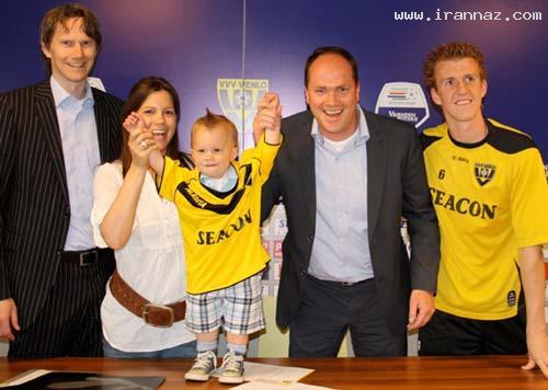 قرارداد باشگاه فوتبال هلند با کودکی 18 ماهه +عکس