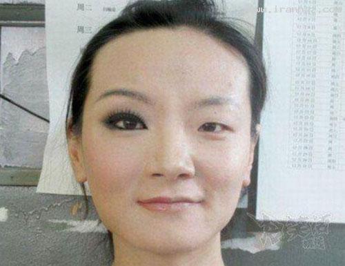 معجزه باور نکردنی آرایش بر روی صورت یک... +عکس