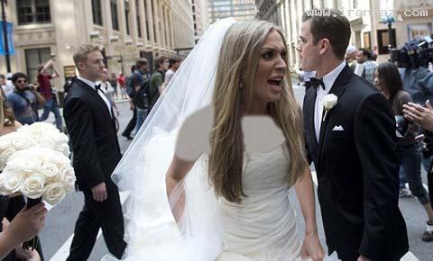 اتفاقی عجیب برای بدشانس ترین عروس دنیا +تصاویر