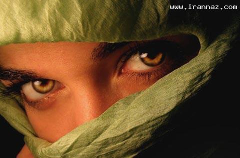 عکسهایی دیدنی از افرادی با زیباترین چشم های دنیا