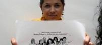 انتشار تصاویر برهنه زنی برای ورود به مجلس +تصاویر