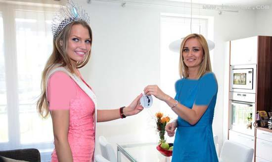 عکس های زیباترین دختر کشور اسلواکی سال 2012