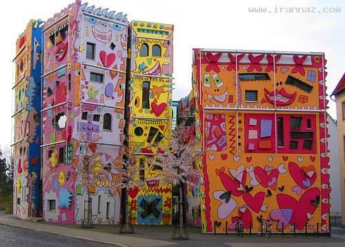 عکس های جالب و دیدنی از شاد ترین محله در جهان