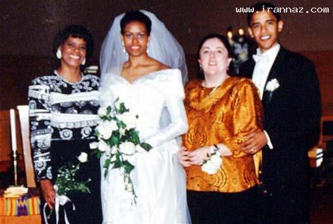 انتشار عکس هایی برهنه از جوانی مادر اوباما +عکس