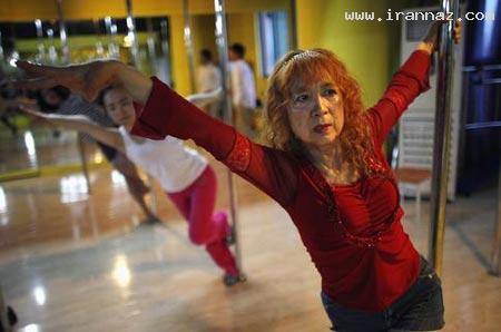 مادربزرگی چینی و سخت ترین رقص در جهان +عکس