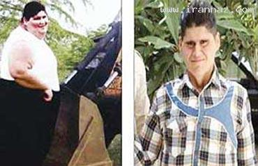 شکستن رکوردهای کاهش وزن از نوع ایرانی +تصاویر