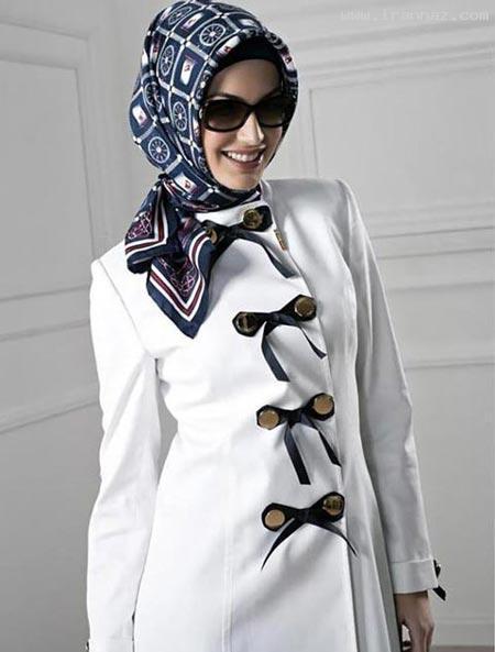عکس هایی از جدیدترین مدل های مانتو در سال 2012