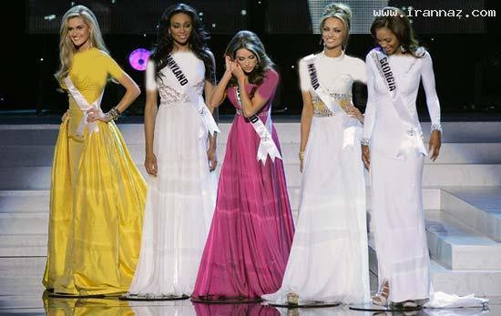 عکس هایی از مراسم تاج گذاری دختر شایسته آمریکا