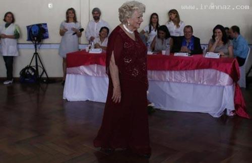 عکس های دیدنی مسابقه انتخاب ملکه زیبایی پیرزنها