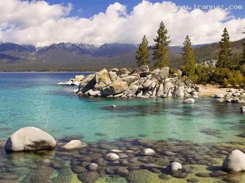 عکس هایی از هنرنمایی خداوند در آفرینش دریاچه ها