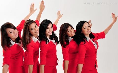 انتخاب جذاب و زیباترین مهماندار خطوط هوایی +تصاویر