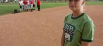 جنجال عضویت دختری در تیم بیسبال پسرانه! +عکس