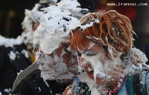عکس های زیبا و دینی از جشن پرتاب کیک و شیرینی