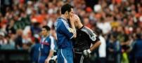 آشنایی با معروفترین بوسه تاریخ فوتبال جهان +عکس