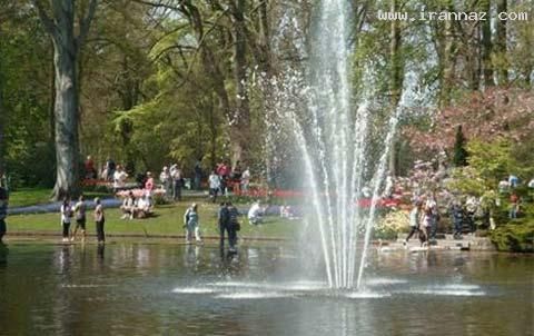 عکس های زیبا از باغی شگفت انگیز و دیدنی در هلند