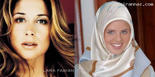 معروف و زیباترین مدل فرانسوی مسلمان شد +عکس