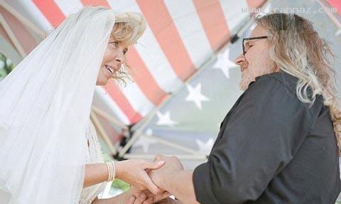 مراسم باورنکردنی و عجیب ازدواج در قبرستان+تصاویر